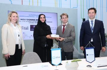 MoU signing with Smart Dubai