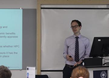 Photo of Simon Bittlestone presenting